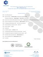 Programma Preliminare al 03_07_ 2014