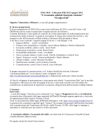Valutazione Ines14_senza aspetto economico