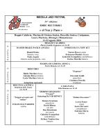Scarica il Programma Completo in PDF
