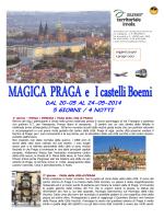 Praga 20-24 maggio