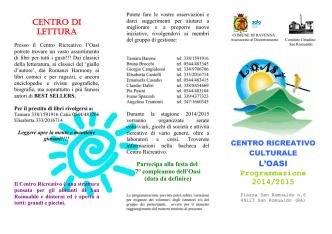 CENTRO DI LETTURA - Comune di Ravenna