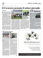 Calcio Il Cavarzere presenta il settore giovanile