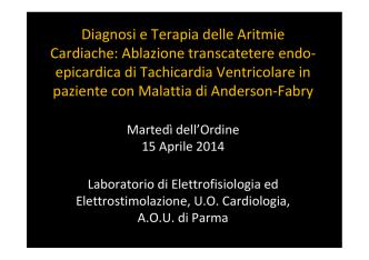 caso clinico - Ordine dei medici di Parma