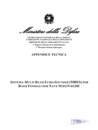 Appendice Tecnica ( FILE .PDF 109KB )