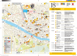 Mappa Eventi Collaterali - ICOMOS General Assembly 2014