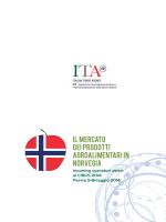 IL MERCATO DEI PRODOTTI AGROALIMENTARI IN norvegia