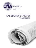 Rassegna stampa 7 marzo 2014