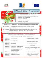 Natale 2014 Programma - IC Mater Domini