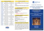 Pieghevole programma 13 settembre 2014