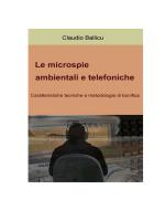Le microspie ambientali e telefoniche