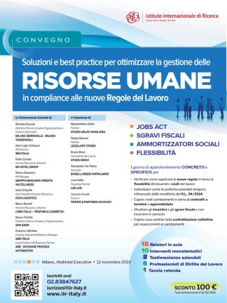 Convegno IIR_Milano_12 novembre 2014