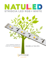 STRISCIA LED RGB WHITE