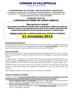 NuovoBandoWelfareSpeseTrasporto 2013-2014