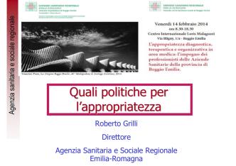 1,05 - Azienda USL di Reggio Emilia