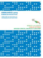 annuario 2014 • strutture ricettive