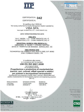 certificato iip
