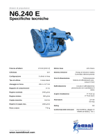 Nanni marine engine Brochure N6.240 E