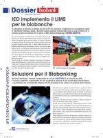 IEO implementa il LIMS per le biobanche