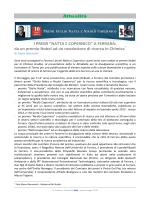 """Attualità I PREMI """"NATTA E COPERNICO"""" A FERRARA: da un"""