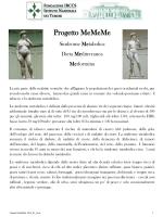 Progetto MeMeMe - Istituto Nazionale dei Tumori