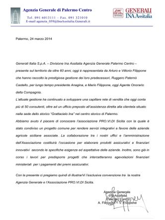 Agenzia Generale di Palermo Centro