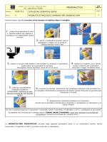 Modalità di raccolta campioni per urinocoltura