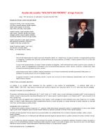 """Analisi del sonetto """"SOLCATA HO FRONTE"""" di Ugo Foscolo"""