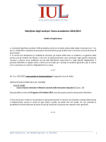 manifesto studi 2014-2015