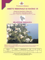 Relazione idraulica - CarT@GIS