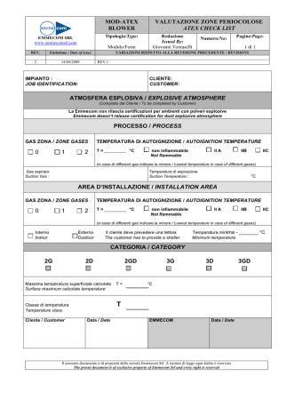 Atex check list EMMECOM BLOWER-2