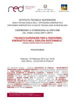 programma - Università degli Studi di Padova