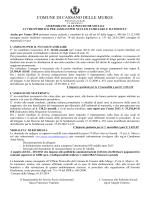 manifesto assegni 2014 - Comune di Cassano delle Murge