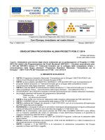 GRADUATORIA PROVVISORIA ALUNNI PROGETTI PON C1 2014