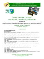 Scarica il programma del workshop