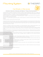 Garanzia 12 anni Thesan Mounting System