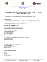 Testo in adozione: Legislazione aeronautica –Flaccavento