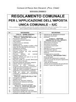 Regolamento I.U.C. - Comune di Rocca San Giovanni