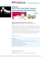 IPS e.max Press Multi, estetica vitale pressata