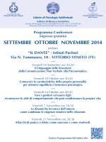 Impaginato IPS 2014_Vittorio_v3.ai - Istituto di Psicologia Subliminale