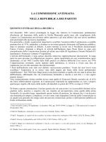 la commissione antimafia nella repubblica dei partiti