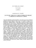 """ITE """"TERRA DI LAVORO"""" Via Ceccano CASERTA COMUNICATO"""