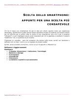 scelta dello smartphone