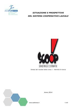 Analisi fabbisogni Lazio 2014