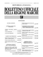 repubblica italiana - Regione Marche