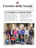 """Corriere della Scuola 1 - Istituto Comprensivo """"Armando Diaz"""""""