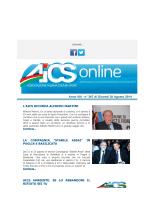 AICS ON LINE N° 367 del 28/08/2014