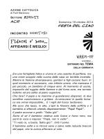 Fidarsi è bene, AFFIDARSI E - AC Forlì