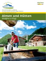 Hüttenführer - Gitschberg Jochtal