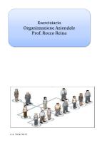 Eserciziario Org.ne Aziendale anno 20142015