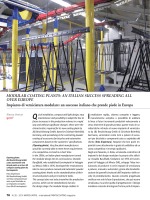 MODULAR COATING PLANTS: AN ITALIAN SUCCESS